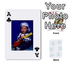 Ace Deck Of Playing Cards By Bonnie Peloquin   Playing Cards 54 Designs   Ncnfu2jaxt62   Www Artscow Com Front - ClubA