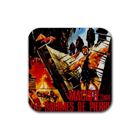 Maciste Squares By David Zuzelo   Rubber Coaster (square)   Rrjs4936czsh   Www Artscow Com Front