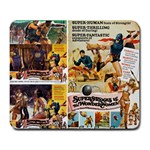Amazons and Supermen Mousepad - Large Mousepad