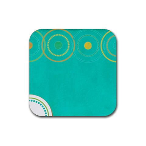 Summer Set Coaster 2 By J   Rubber Coaster (square)   F57x8aezw1lc   Www Artscow Com Front