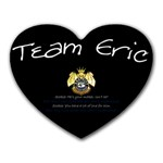 Team Eric - Heart Mousepad