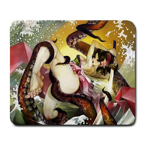 Muramasa By Jimmy Luangphonh   Large Mousepad   Cfid42t16bk0   Www Artscow Com Front