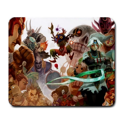 Legend Of Zelda Background By Arc Her   Large Mousepad   Q75kll6lhl6l   Www Artscow Com Front