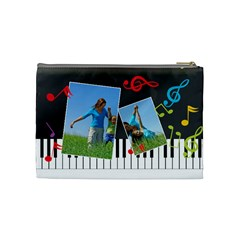 Music Bag By Wood Johnson   Cosmetic Bag (medium)   Vbfifmqb4ihs   Www Artscow Com Back