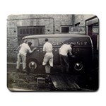 Early 50 s VW Van - Large Mousepad