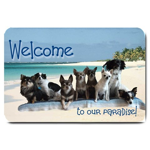 Mat3 By April   Large Doormat   A8m4hva2hfcs   Www Artscow Com 30 x20 Door Mat - 1