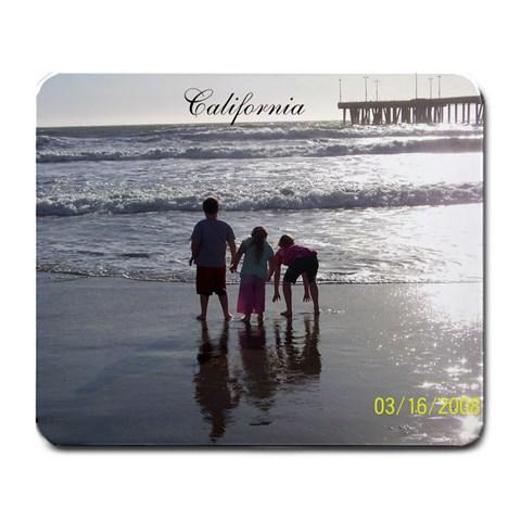 Cali Mousepad By Staci Haughey Peebles   Large Mousepad   0vlsxoxx8346   Www Artscow Com Front