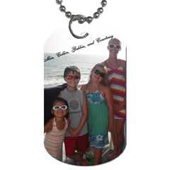 Siblings By Courtney Adkins   Dog Tag (two Sides)   Gi3hsgote6l8   Www Artscow Com Front