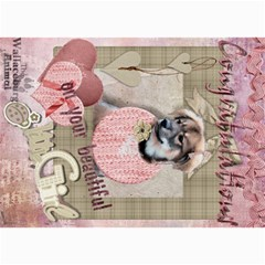 Dogcards2 By Lily Hamilton   5  X 7  Photo Cards   Mlojw16lt92u   Www Artscow Com 7 x5 Photo Card - 6