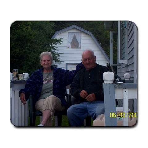My Parents (loves Them Very Much& Misses Them  By Jenny Smith  Barry   Large Mousepad   W7fqmbevdc8z   Www Artscow Com Front
