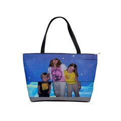 Grandkids Picture Tote Bag By Joni Ellsworth   Classic Shoulder Handbag   Lwdntyp6on3y   Www Artscow Com Front