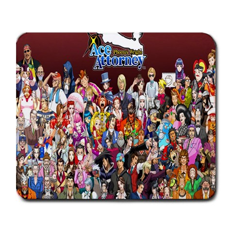 Pw By Herpa Durpa   Collage Mousepad   Gokbnaa2gs4g   Www Artscow Com 9.25 x7.75 Mousepad - 1