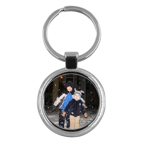 Key Chain By Julie Shaver   Key Chain (round)   064ies086vn3   Www Artscow Com Front