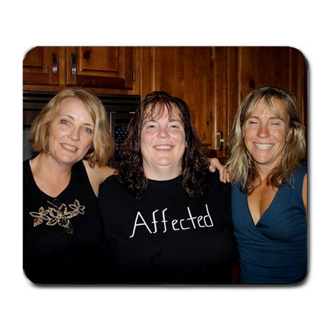 Sisters By Jane   Large Mousepad   Bjzr24ztwmu2   Www Artscow Com Front