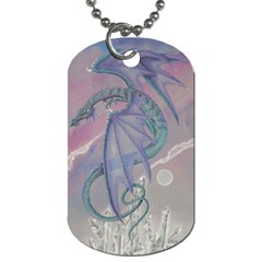 Dragon Tattoo By Kerri Morgan   Dog Tag (two Sides)   0xq2uz6b0tlx   Www Artscow Com Back