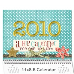 Momcalender By Blair Hill   Wall Calendar 11  X 8 5  (12 Months)   0rb6x5u7if9u   Www Artscow Com Cover