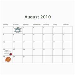 Momcalender By Blair Hill   Wall Calendar 11  X 8 5  (12 Months)   0rb6x5u7if9u   Www Artscow Com Aug 2010