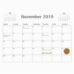 Momcalender By Blair Hill   Wall Calendar 11  X 8 5  (12 Months)   0rb6x5u7if9u   Www Artscow Com Nov 2010