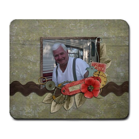 Pappaw By Brittney   Large Mousepad   E5pa2nt7fd8y   Www Artscow Com Front
