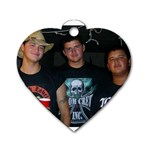 Harper Boyz - Dog Tag Heart (One Side)