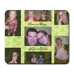 Jessica Smith family mouse pad - Collage Mousepad