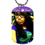 Tylia Janei - Dog Tag (One Side)