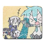 anime girl - Large Mousepad