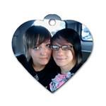 kidsheart - Dog Tag Heart (One Side)