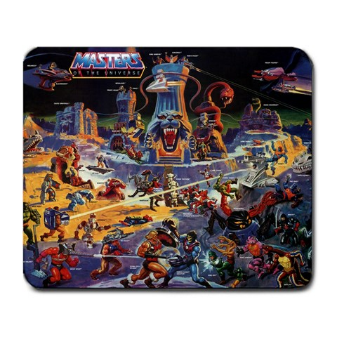 Eternia Promo Poster By Bill Murphy   Large Mousepad   D4qaao695kfz   Www Artscow Com Front