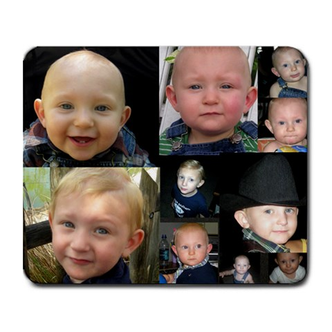Nolan By Ashley Schumann Bennett   Collage Mousepad   N9wm2y3cqfbf   Www Artscow Com 9.25 x7.75 Mousepad - 1