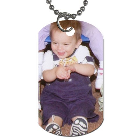 Isaiah Dog Tag By Kathryn Holderman   Dog Tag (one Side)   Nw81eyfbu1r4   Www Artscow Com Front
