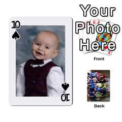 Grandkids Playing Cards By Kathy Rayhons   Playing Cards 54 Designs   F4o6p7nstq3k   Www Artscow Com Front - Spade10