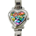 Destiny s Birthday Gift - Heart Italian Charm Watch