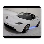 Tesla Roadster - Large Mousepad