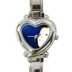jamie watch - Heart Italian Charm Watch