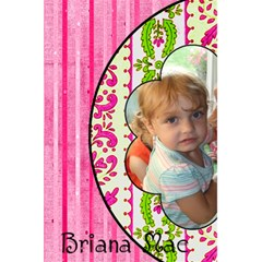 Rachel s Girls By Brookieadkins Yahoo Com   5 5  X 8 5  Notebook   2lvjcuq5vcri   Www Artscow Com Back Cover