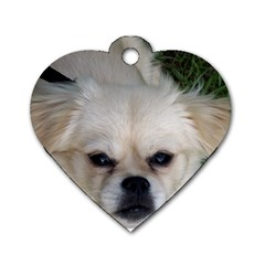 Belle By Megan Walker   Dog Tag Heart (two Sides)   4p5q8ldfzxim   Www Artscow Com Front