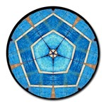 The Kaleidoscope - Round Mousepad
