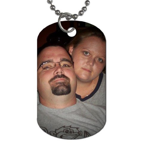 By Ronni Moore Wagnon   Dog Tag (one Side)   1zk0e0cpme03   Www Artscow Com Front