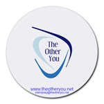 The Other You Mouse Pad - Round Mousepad