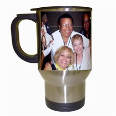 Uncle Arnie s Mug By Mindy  Berry   Travel Mug (white)   0bc2klh60gkg   Www Artscow Com Left