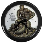 Diver - Wall Clock (Black)