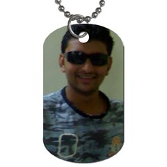 Dog Tag (two Sides)  By Chetan   Dog Tag (two Sides)   6xrsamvcoqnt   Www Artscow Com Front