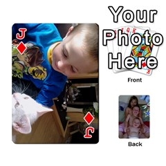 Jack Personalised Cards By Jemma Spring    Playing Cards 54 Designs   8qcn7xfbaquq   Www Artscow Com Front - DiamondJ