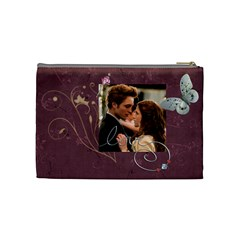 Edward & Bella By Jennifer Zelm   Cosmetic Bag (medium)   Xcnwwl88sdlv   Www Artscow Com Back
