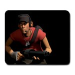 tf2 scout mousepad - Large Mousepad