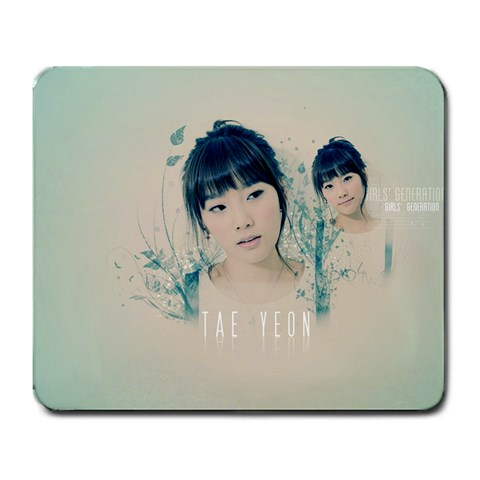Taeyeon Mousepad By Ace Calub   Large Mousepad   7m9hwhdddaos   Www Artscow Com Front