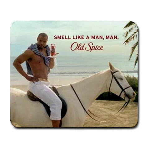 Smell Like A Man By Jeff   Collage Mousepad   Pchy5ua5wf9h   Www Artscow Com 9.25 x7.75 Mousepad - 1