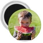 Micah watermelon magnet - 3  Magnet