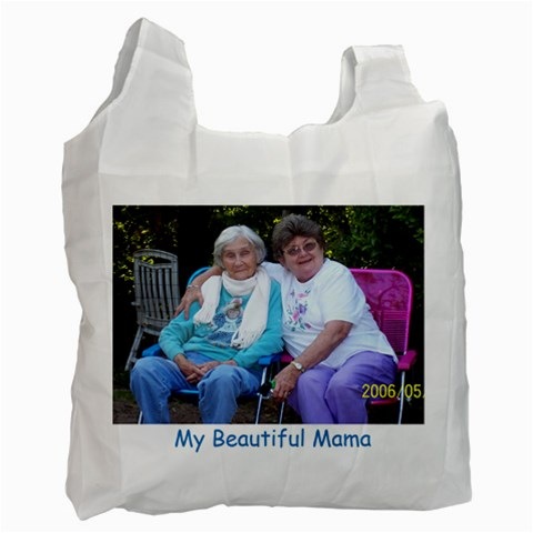 Beautiful Tote Bag By Judy   Recycle Bag (one Side)   Md1tv05qqtga   Www Artscow Com Front